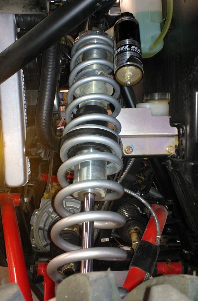 Yamaha YXZ Suspension Installed