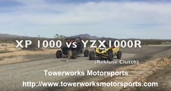 Towerworks Motorsport Yamaha YXZ1000R vs XP1000