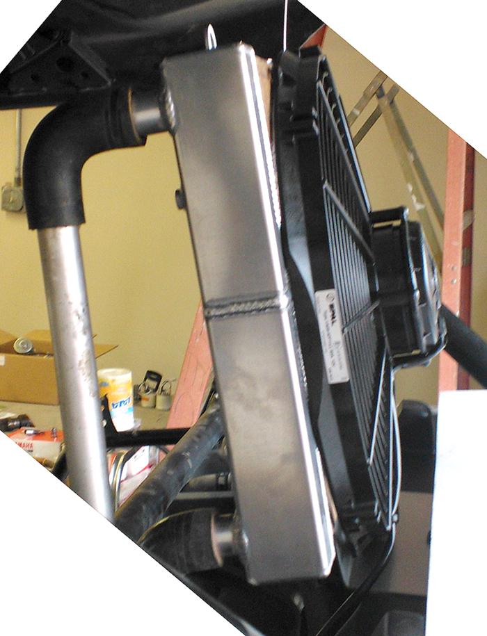 Yamaha YXZ1000R Rear Radiator
