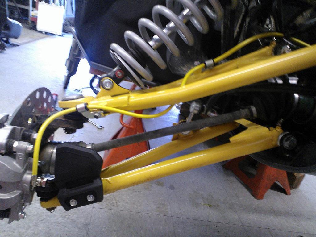 Yamaha YXZ1000R Aftermarket Brake Lines