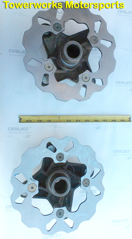Polaris RZR XP1000 Wavy Brake Rotors