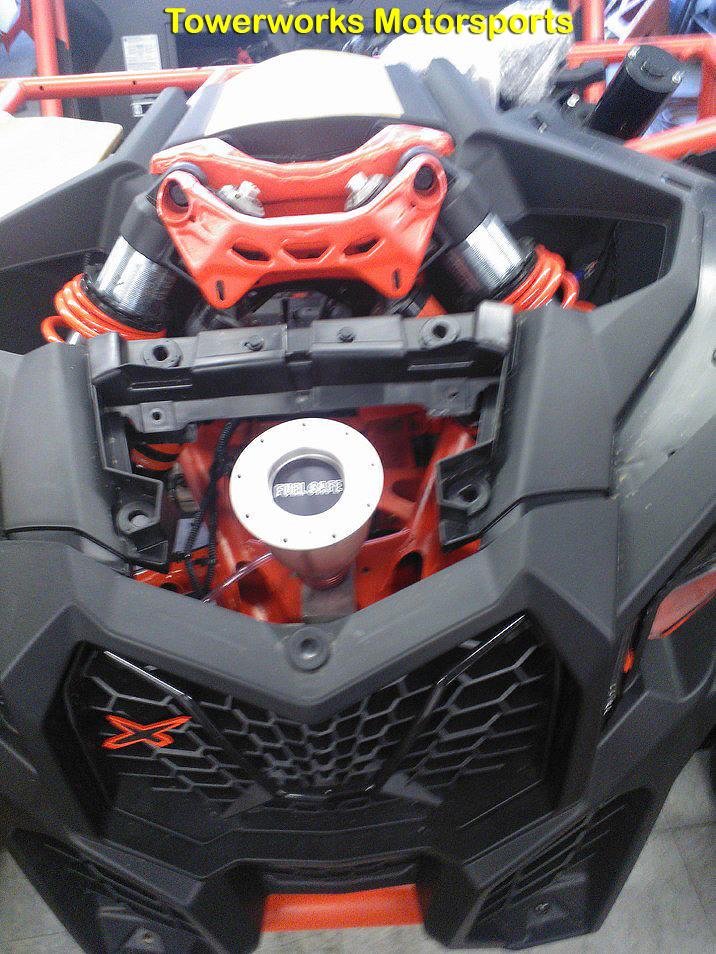Can Am Maverick X3 Fuel Cell Filler