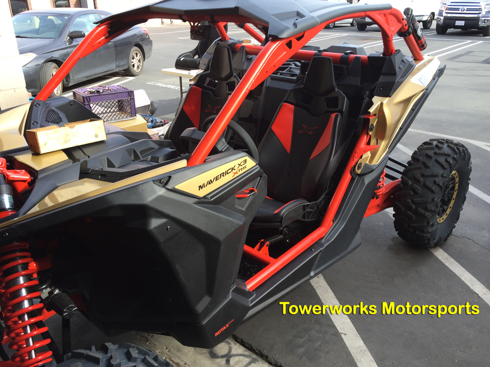 Can Am Maverick X3 Fuel Cell Design Phase