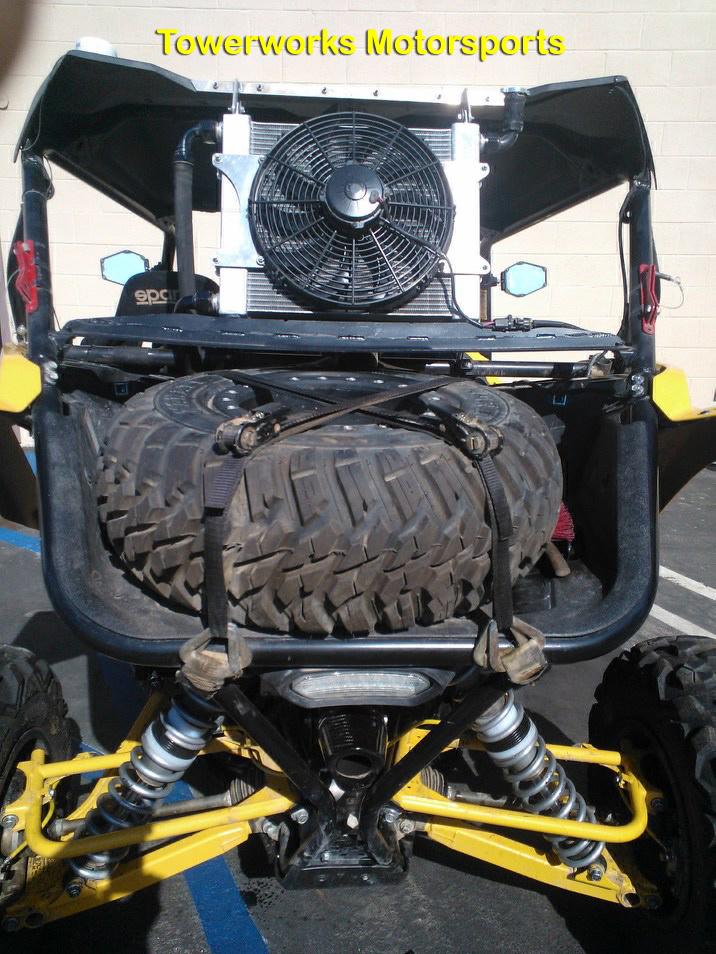Yamaha YXZ1000R Rear Radiator With Particle Separator